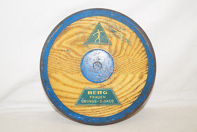 Berg Vintage 50th Mujeres Ejercicios Discus Aprox. 1kg