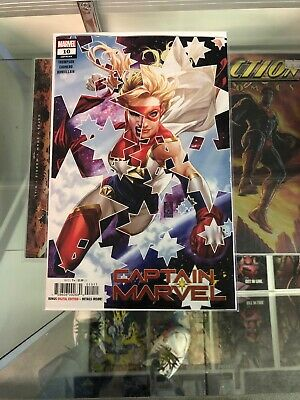 CAPTAIN MARVEL #10 Mark Brooks Main Cover A 1st Print Marvel 2019 NM+ 9/11