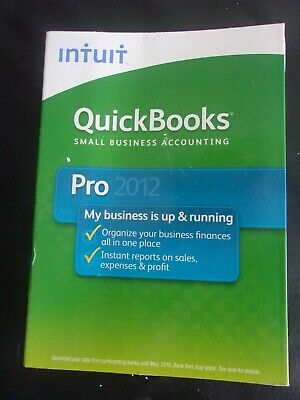 Intuit QuickBooks Pro 2012 - Small Business Accounting