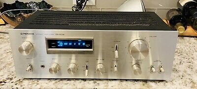 PIONEER Stereo Amplifier SA-608 Vintage 1979, Fully Tested Works Perfectly!