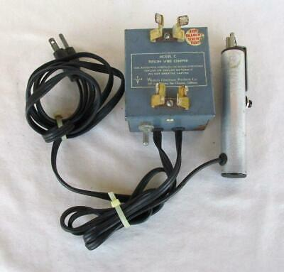 Western Electronic Model C Teflon  Wire Stripper Tested Working