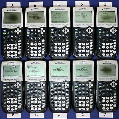 Choose One - TI-84 Plus Graphing Calculator Texas Instruments YELLOW TI84+