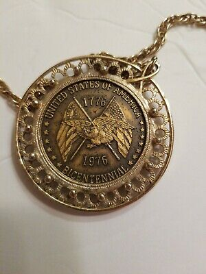 Founding Fathers Declaration Of Independence Medal 1776 -1976 Bicentennial Medal