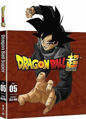 Dragon Ball Super Part 5 Episodes 53-65 DVD New Free Shipping!