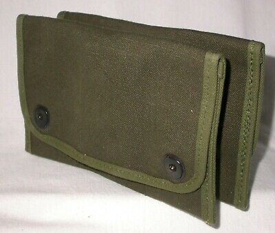 Army Military Ammo or Gear Belt Pouches WW II Era US Canvas NEVER USED