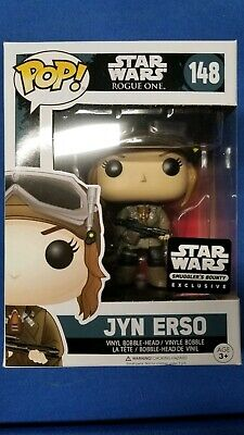 Funko POP! Star Wars Rogue One #148 JYN ERSO Smuggler's Bounty Exclusive