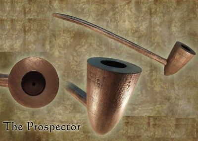 MacQueen Ranger Lord of the Churchwarden Tobacco Pipe Smoke Rings Cherry Wood