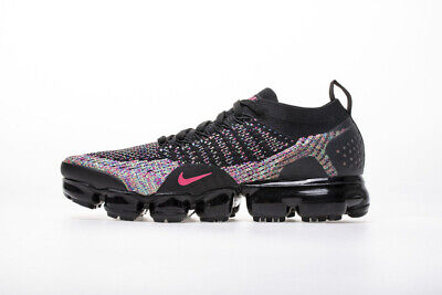 Nike Air VaporMax Flyknit 2.0 2018 Mens Noir Running Shoes Sneakers Trainers