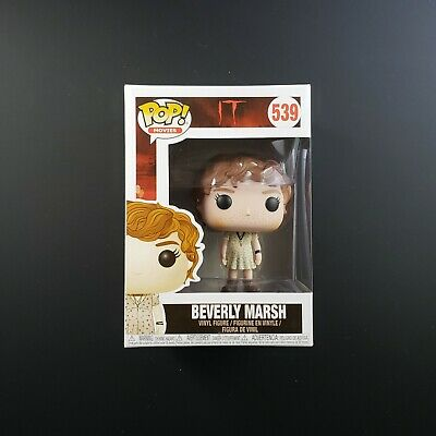 Funko POP! Movies! IT (Horror) : Beverly Marsh #539 | With POP Box Protector
