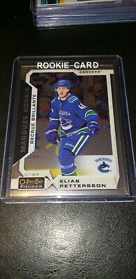2018-19 Opc Platinum Elias Pettersson Marquee Rookie #151