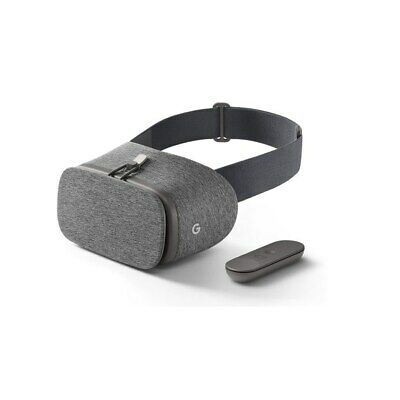 Google Daydream  Virtual Reality Headset Controller View VR-Brille in grau