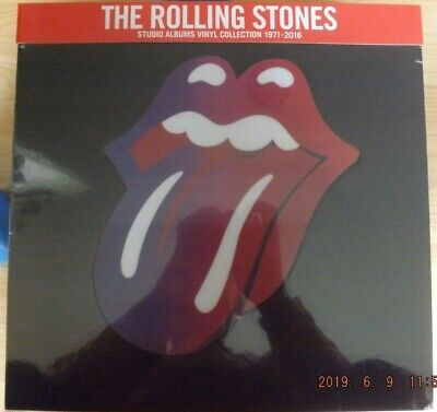 The Rolling Stones Studio Albums Vinyl Collection 1971 - 2016 Box Mick Jagger