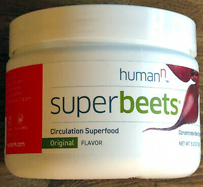 HumanN SuperBeets Orig Flavor Concentrate Circulation Super-Food (30 Servings)