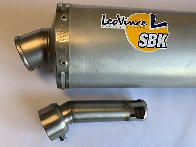 Chicane db kille adaptable de diamètre 48mm pour pot LEOVINCE SBK