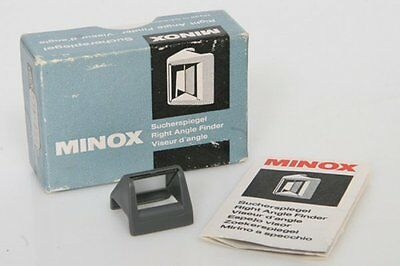 Minox Right Angle Finder for submini camera with original box