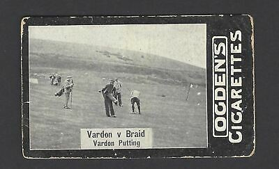 OGDENS (TABS) - GENERAL INTEREST (97-2, GOLF) - VARDON v BRAID, VARDON PUTTING
