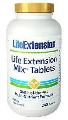 Life Extension - Mix Tablets-240 Pastillas Con Muchos Vitaminas