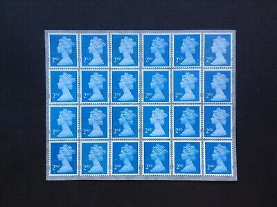 24 2nd Class Unfranked Security Stamps Self Adhesive Easy Peel