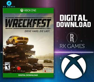 Wreckfest Xbox One (Download/Read Description before buying)