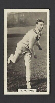 Boys Magazine - Famous Cricketers Series - #10 M W Tate, Sussex