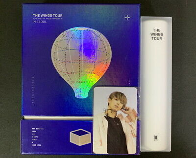 BTS-2017 Live Trilogy Episode III The Wings Tour in Seoul DVD+POSTER JUNGKOOK PC