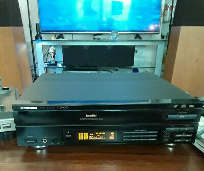 ***Pioneer Laser Disc player Model: CLD-1070 with remote control