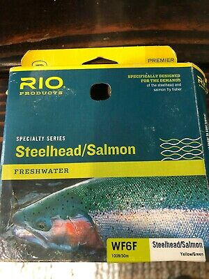 Brand New Rio Steelhead Salmon WF6F Fly Line