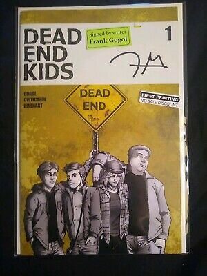 Dead End Kids #1 Source Point Press autographed By Writer Frank Gogol 1st Print