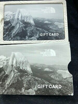 North Face Gift Card For Instore Use Worth £390 Valid For 2 Years