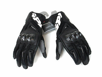 ABVERKAUF! SPIDI STR-3 VENT COUPE GLOVES  BLACK Gr. L