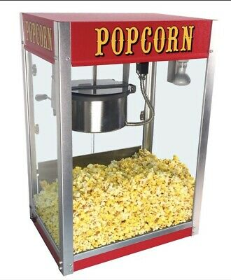 Professional Theatre 8 OZ Popcorn Machine Commercial Popcorn Maker