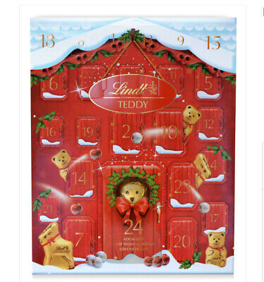 Lindt Bear Advent Calendar 250g Christmas 2019 Free Tracked Delivery