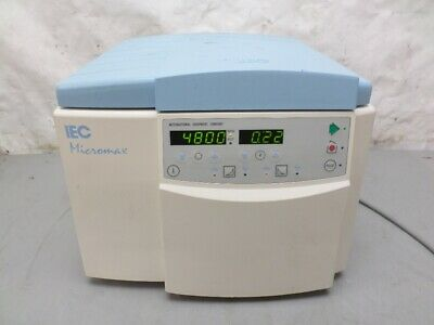 IEC MicroMax Centrifuge W/ 24 Place Rotor And Lid Very Nice