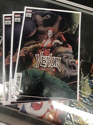 Venom Annual #1 Variant Cover John Tyler Christopher Marvel Comics Nm