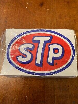 """Vintage STP Stickers """"The Racers Edge"""" lot of 79"""