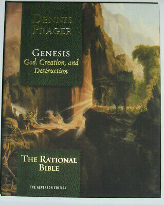 The Rational Bible: Genesis by Dennis Prager AUTOGRAPHED (2019, Hardcover)