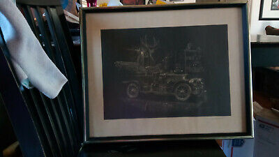 GREAT print signed & numbered LOOK see pictures