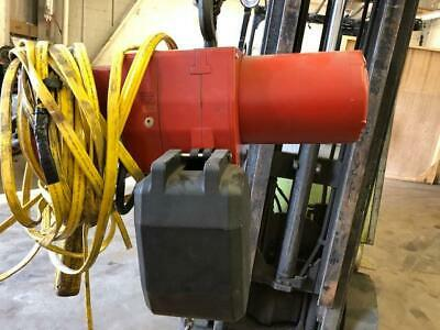 Dayton 1/2 Ton Electric Chain Hoist. 3 Phase