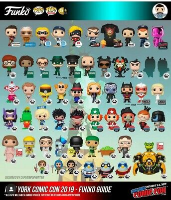 Funko Pop! NYCC EXCLUSIVE SHARED STICKERS PREORDER GUARANTEED