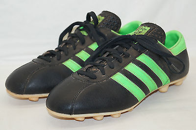 70' ADIDAS BECKENBAUER Made In Austria Football Shoes Uk4