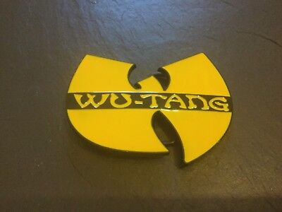 WU TANG CLAN Music New BELT BUCKLE New Metal Pewter
