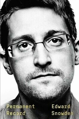 Permanent Record by Edward Snowden Social Activist Hardcover NEW