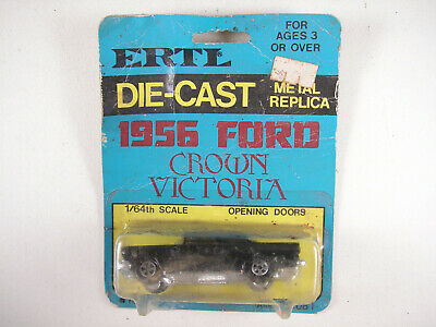 Ertl 1/64 1956 Ford Crown Victoria Replica #1632, NOS, Mint - card front dirty
