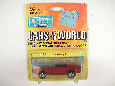 Ertl 1/64 Ford Mustang Mach I #1616, NOS, Mint - card front dirty