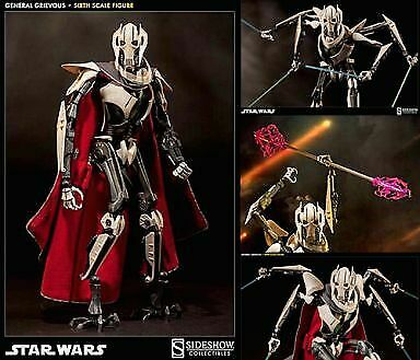 General Figure Grievous Star Wars Episode 3 Sith Revenge Scum Villany Of 1 6