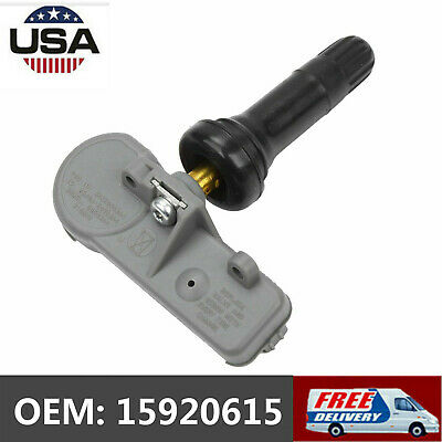 Set of 1 Tire Pressure Monitoring Sensor TPMS 15920615 15922396 Fit Chevy Impala