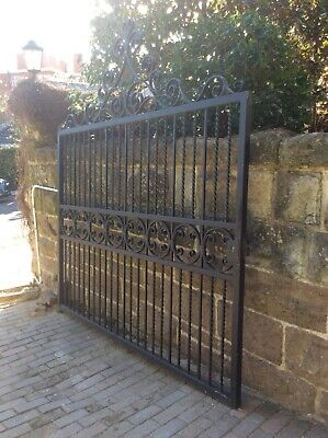 Large French wrought iron gate