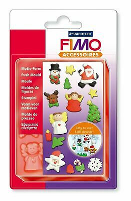 Staedtler Fimo Push Mould - XMAS