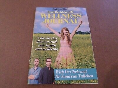 Daily Mail 12 Page Pullout Good Health for Life plus Wellness Journal -FREE POST