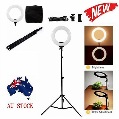 14'' LED Ring Light 40W Dimmable 3200-5600K for Selfie Photo Video Studio Makeup